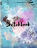 Sketchbook Art Notebook: Sketchbook for Drawing, Writing, Painting, Sketching or Doodling, (120 Pages, 8.5x11 )