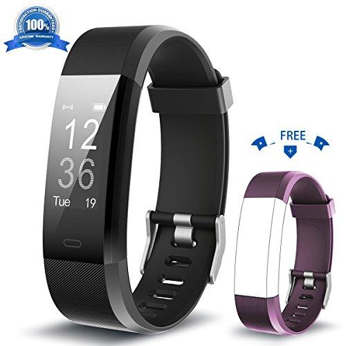 HolyHigh Fitness Tracker YG3 Plus HR con Cardiofrequenzimetro da Polso, Bracciale Intelligente Impermeabile/Contapassi/Notifiche per Le Chiamate/Monitoraggio del Sonno per Android e iOS …