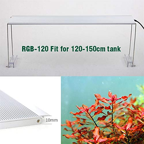 Aquarium licht chihiros RGB aquarium LED verlichting kweeklichten voor waterplanten aquarium 90-150 cm multicolor lamp EU plug aquarium, RGB 120