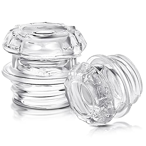 2 Pieces Coffee Percolator Glass Top Replacement Glass Coffee Filter Knob Top Glass Coffee Percolator Transparent Coffee Percolator Top