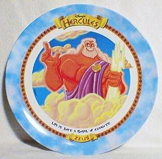 Zeus - Hercules - McDonald's 1997 Disney Collector Plate