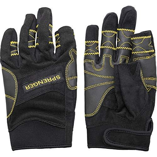 Sprenger Segelhandschuhe Regatta Sporthandschuhe 2-Finger-frei, Größe:M