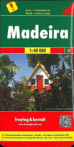 Madeira 1:40.000: ! Besondere Ausflugsziele. Cityplan. Ortsregister. Postleitzahlen. GPS: AK 9303