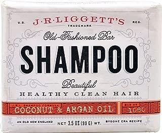 J.R.Liggett's Old Fashioned Bar Shampoo Coconut & Argan Oil -- 3.5 oz - 2pc