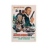 Qiuni Daniel Craig James Bond Poster, dekoratives Gemälde,