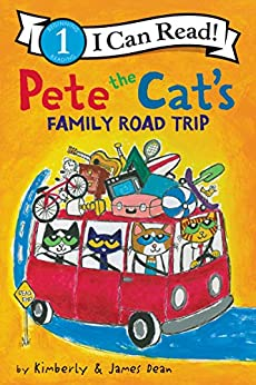 Pete the Cat's Family Road Trip (I Can Read Level 1) by [James Dean, Kimberly Dean]