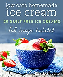 Get More Dairy in Your Diet with low carb homemade ice cream by Elizabeth Jane