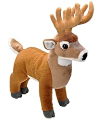 Look no further for your next best friend, because this adorable and cute stuffed animal white tail buck is ready to apart of the family. These plushies are created with high quality materials and are surface washable in case you get its white tail b...