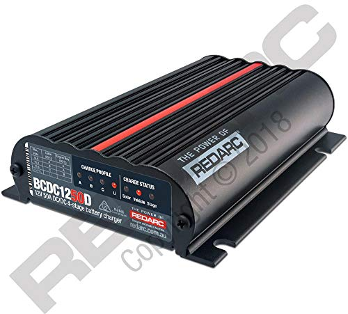 Redarc Dual Input 50A in-Vehicle DC Battery Charger