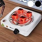 broil-master Cocina Eléctrica para Shisha - 1000W, con Regulador de Temperatura y Protección por Sobrecalentamiento, Color a Elegir - Quemador de Carbón, Hornillo Cachimba, Narguile, Hookah