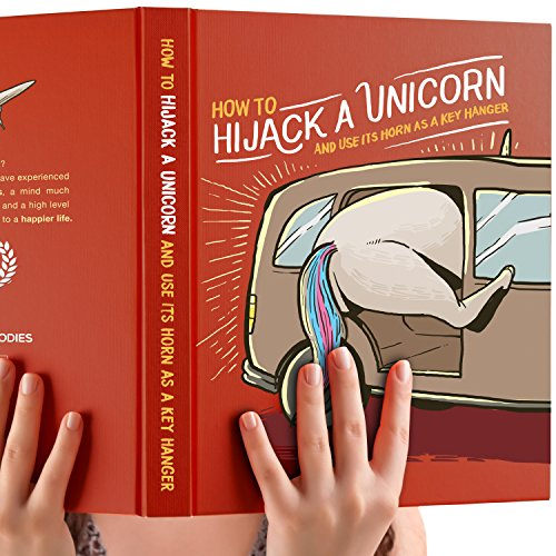 Absurd Unicorn Gag Gift - A Prank Book with Funny Title. Christmas Joke Gift for Friends, Kids, Adults, Moms, Dads, Teens. Birthday Gift for Boys and Girls. Sketchbook or Journal Best LOL Gift.