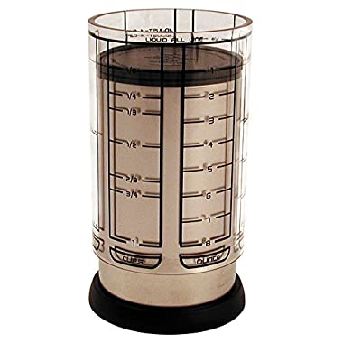 KitchenArt 55250 Pro 1 Cup Adjust-A-Cup, Satin