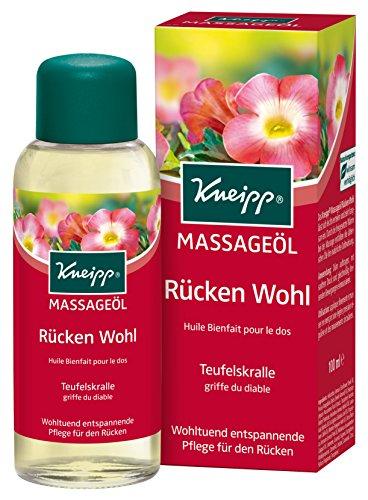 Kneipp Massageöl Rückenwohl mit Teufelskralle, 100 ml