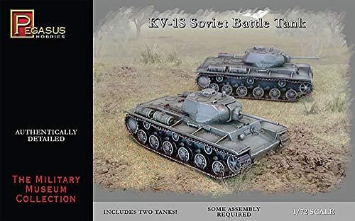 'Pegasus pg7667 – Véhicule – 1/72 KV des Ensembles de 1S Soviet Battle Tank, 2 \
