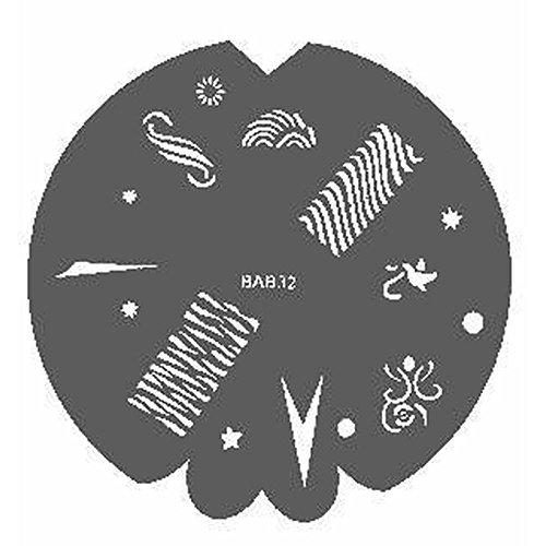 Badger Wild & Crazy (Wild & Verrückt), Airbrush-Schablone 600 932