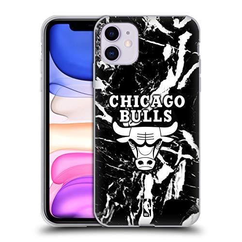 Head Case Designs Oficial NBA Mármol 2019/20 Chicago Bulls Carcasa de Gel de Silicona Compatible con Apple iPhone 11
