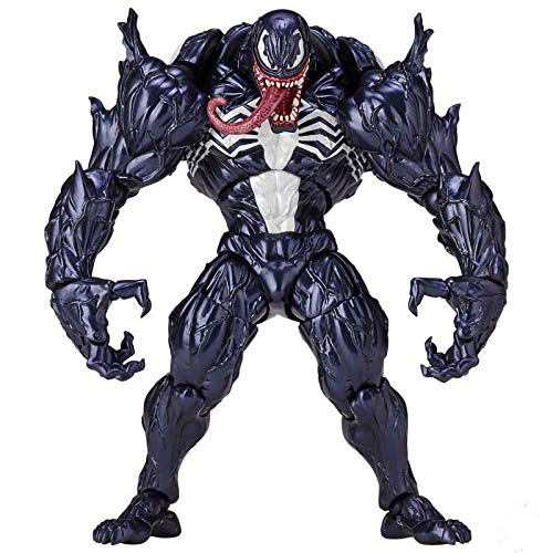Venom Figure, Venom Actions Figures Statue Spider-Man Figurine Toy 3D Model Figure