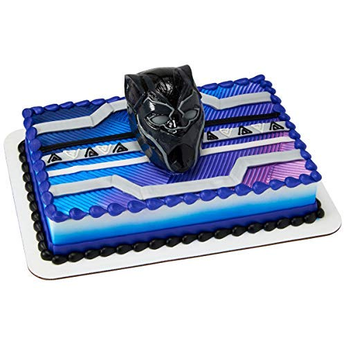 Marvelous Decopac Black Panther Warrior King Decoset Cake Topper Decoration Funny Birthday Cards Online Elaedamsfinfo