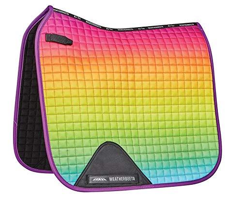 Weatherbeeta Prime Ombre Dressage Saddle Pad - Rainbow Dream Pony