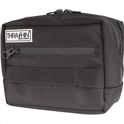 Thrashin Supply Company Handlebar Bag - 7in. L x 3-1/2in. W x 50in. T