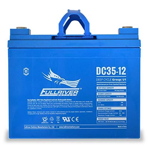 Fullriver DC35-12 Deep-Cycle AGM Battery