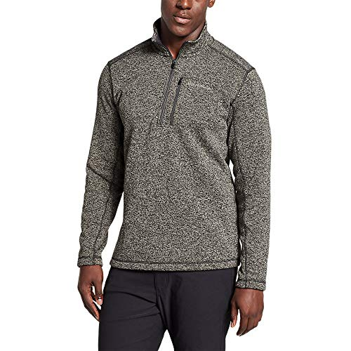 Eddie Bauer Men's Radiator Fleece 1/2-Zip, Charcoal Regular L