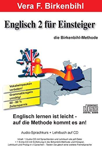 Englisch für Einsteiger Teil 2.  Audio-CD plus pdf-Handbuch auf CD-ROM