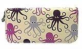 Bungalow360 Zip Around Wallet - Octopus