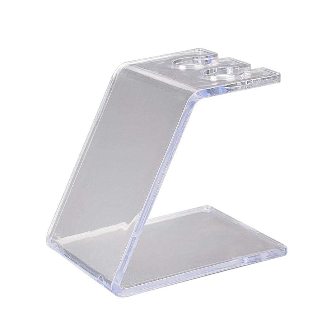 不適当へこみ乱暴なPowlancejp 高品質アクリル収納ボックス タトゥーマシン収納 透明 アクリル ハンドルホルダー