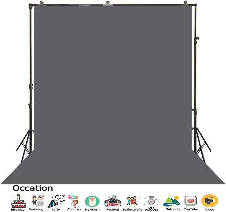 SR-2008 Photography Backdrop Champagne Palepink Background Solid Color Screen Back Drops Video Pictures Making Backgrounds Photo Studio Photoshoots Family Kids Portrait Simple Fabric Wallpapers 3x5ft