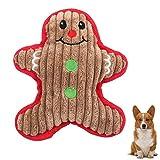 ペット犬のぬいぐるみ音のおもちゃトナカイアントラーは中小犬のための玩具、クリスマスインタラクティブ犬臼歯のおもちゃ犬子犬のおもちゃを噛んで、20 * 13センチメートル lsmaa