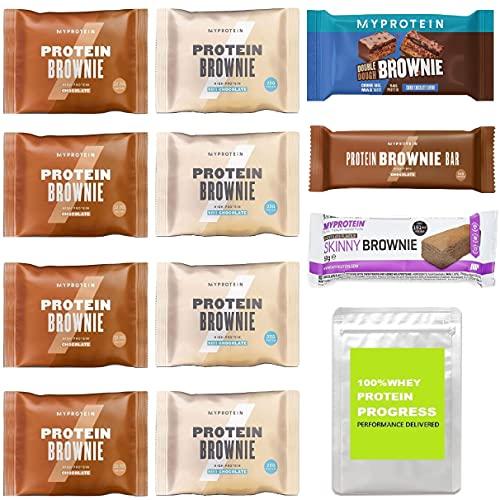 マイプロテイン プロテインブラウニー&プロテインブラウニーバー バラエティパック(MYPROTEIN PROTEIN BROWNIE & PROTEIN BROWNIE BAR Variety Pack)