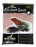 Rettili Planet Lettiera Sabbia di Calcio terrario Calcio Sand Kalahari Rosso 5kg