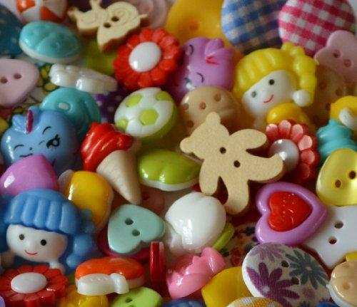 Assortiment de 50 boutons mélange assortis