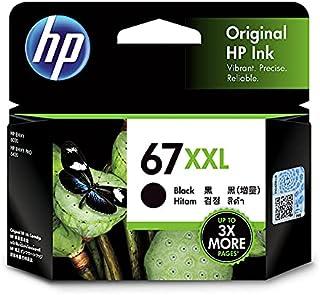 HP 3YM59AA Extra High Yield Original Ink Cartridge, 67XXL Black