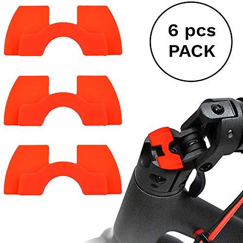 myBESTscooter Vibrationsdämpfer aus Gummi für Xiaomi M365 Pro Elektro-Scooter, 6 Stück