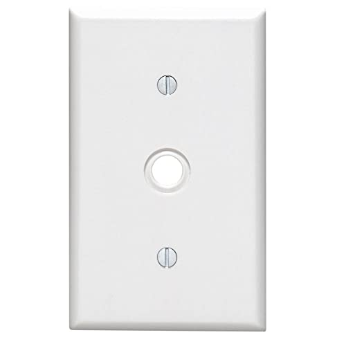 Cable Outlet Cover Plate: Amazon com