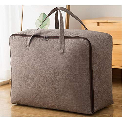 N / C Storage Bag Spot Quilt Christmas Home Bedroom Clothing Finishing Moving Doll 60x40x24cm (23.62x 15.75x9.45 In)