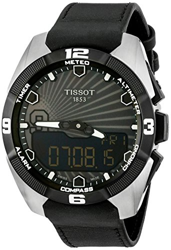 Tissot Men's T091.420.46.061.00 'T Touch Expert' Black Dial Solar Tony Park Limited Edition Swiss...