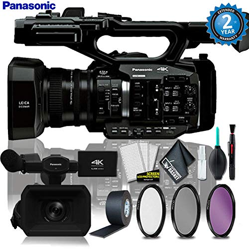 Find Bargain Panasonic AG-UX90 4K/HD Industry Camcorder + 3PC Filter Kit + Gaffer Tape + Cleaning Ki...