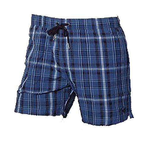 Marc O'Polo Body & Beach Swimshorts Short de Bain, Bleu-Blau (Blau 800), Large Homme