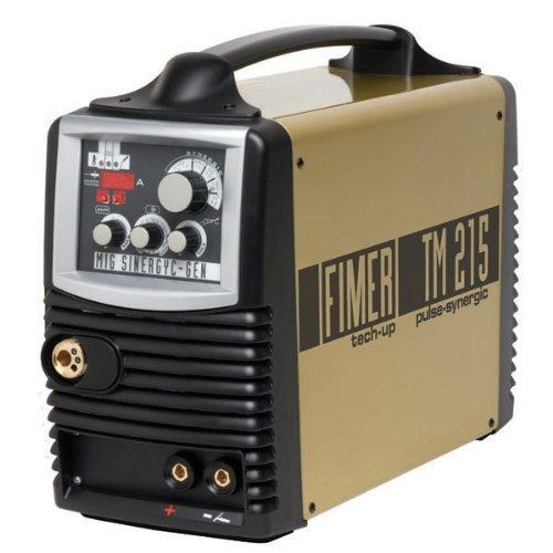 Fimer MIG/MAG / Elektrode / WIG Inverter-Schweißgerät TM 215 Pulse Synergic 210A Frei Haus