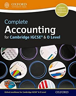 Complete Accounting for Cambridge O Level and IGCSE