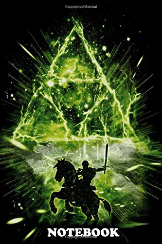 Notebook: Triforce Storm V2 , Journal for Writing, College Ruled Size 6' x 9', 110 Pages