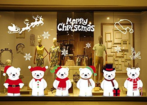 UMIPUBO Navidad Pegatina Pared Decorativos Pegatina