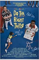 DO THE RIGHT THING-SPIKE LEE-輸入映画ウォールポスター印刷-30CM X 43CM