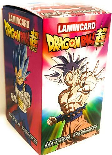 DIRAMIX Scatola Box da 24 BUSTINE LAMINCARD Dragonball Super Ultra Power (Viene spedito Senza Box)