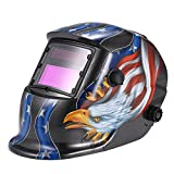 KKmoon Welding Helmet Solar Auto Darkening Welders Mask Arc Tig Mig Grinding Eagle