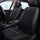 LUKUCEA 1 Stück Kühlende Sitzauflage Auto, Belüfteter 12V 10W Klima Vordersitze Sitzauflagen Auto Sitzkissen mit Belüftung Perfekt für Autositz Bürostuhl im Sommer
