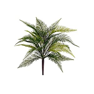17″ Feather Fern BushGreen(pack of 12)